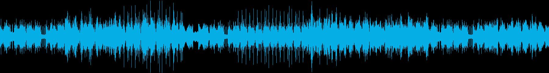 叙情的EDMハウスver.2(キックレスの再生済みの波形