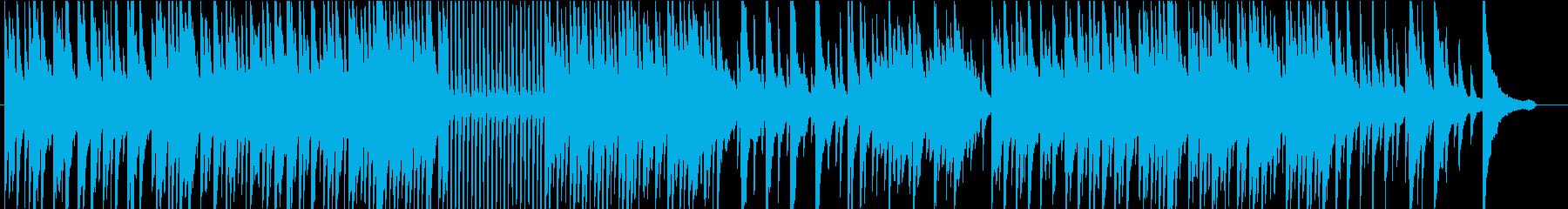 ビル・エヴァンス風なピアノインストの再生済みの波形