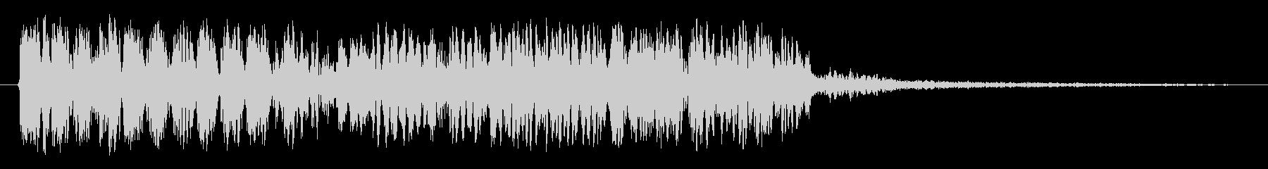 ローラーの未再生の波形
