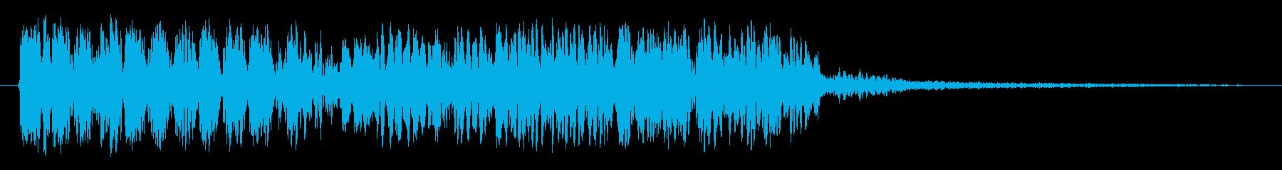 ローラーの再生済みの波形