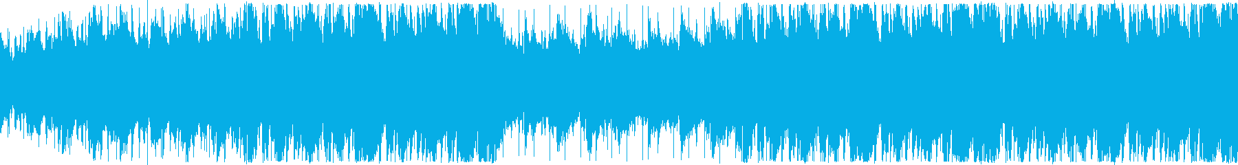 夏の花火・ノスタルジックな余韻・ループの再生済みの波形