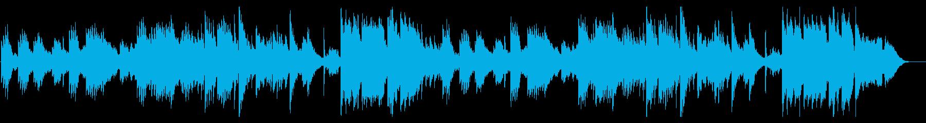 夕焼け空・雄大なノスタルジックピアノの再生済みの波形