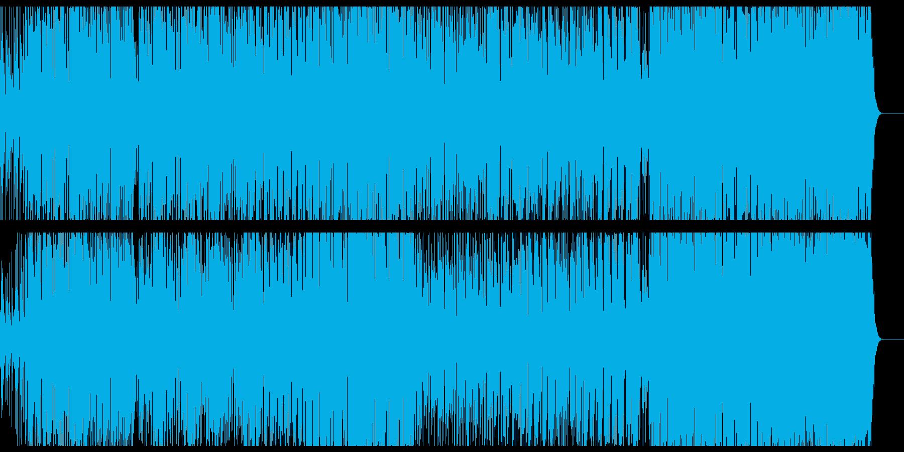 民族のお祭り的なエスニック音楽の再生済みの波形