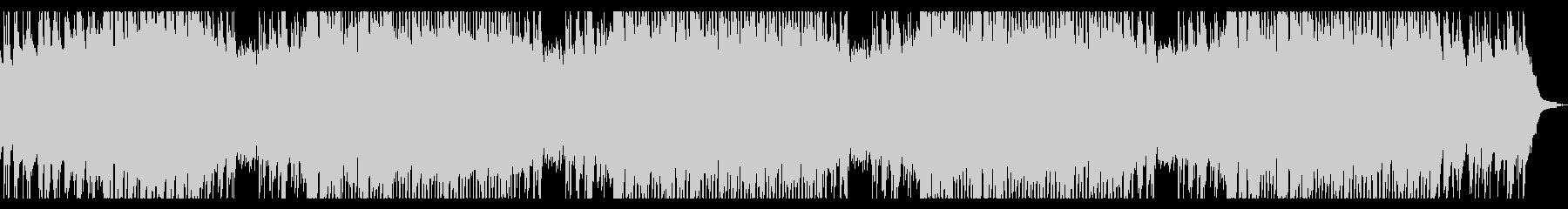 ピアノとバイオリンのアンビエント ロングの未再生の波形