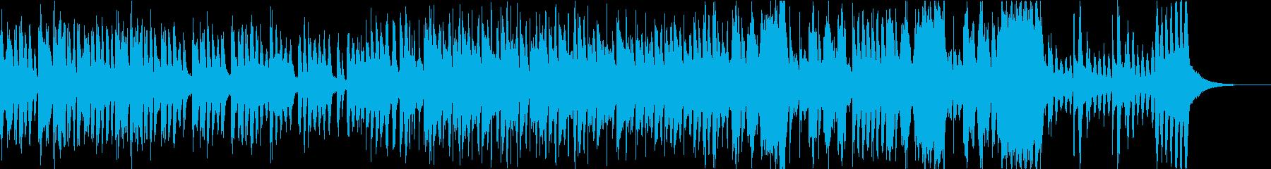 コミカルな和風オーケストラの再生済みの波形