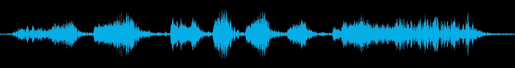 カートランスミッションマニュアル;...の再生済みの波形
