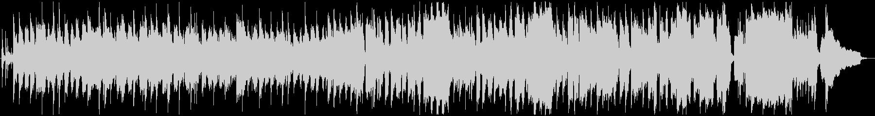 可愛らしいリコーダーの軽快な曲の未再生の波形