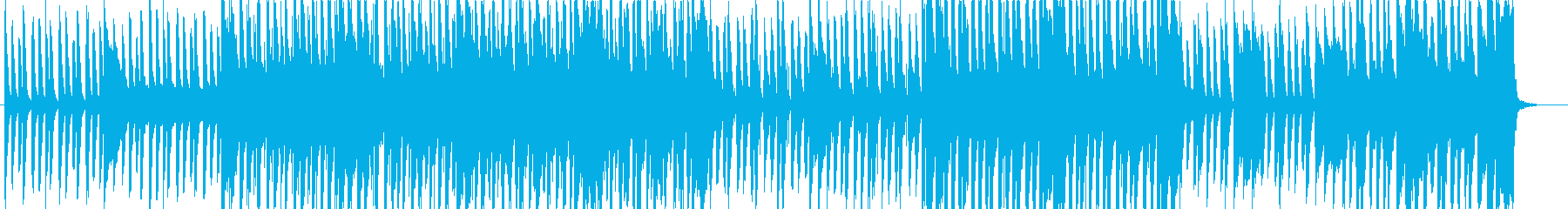 ポリリズム感のある変拍子ピアノポップの再生済みの波形