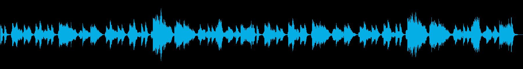 浅草オペラのレトロな大正歌謡の再生済みの波形