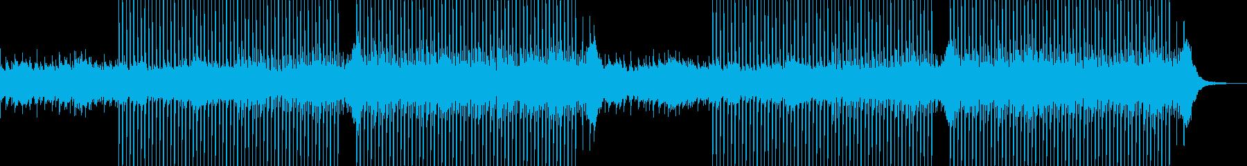 企業VP系22、爽やかギター4つ打ち1aの再生済みの波形