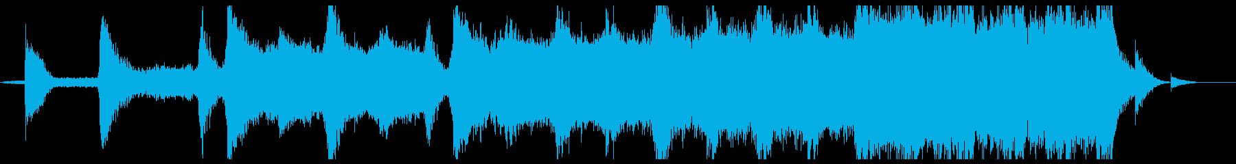 オーケストラシネマティックの再生済みの波形