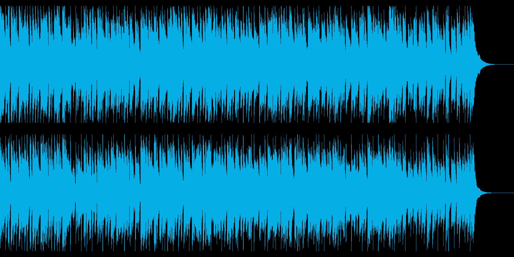 明るいコミカルな日常的軽ロックの再生済みの波形