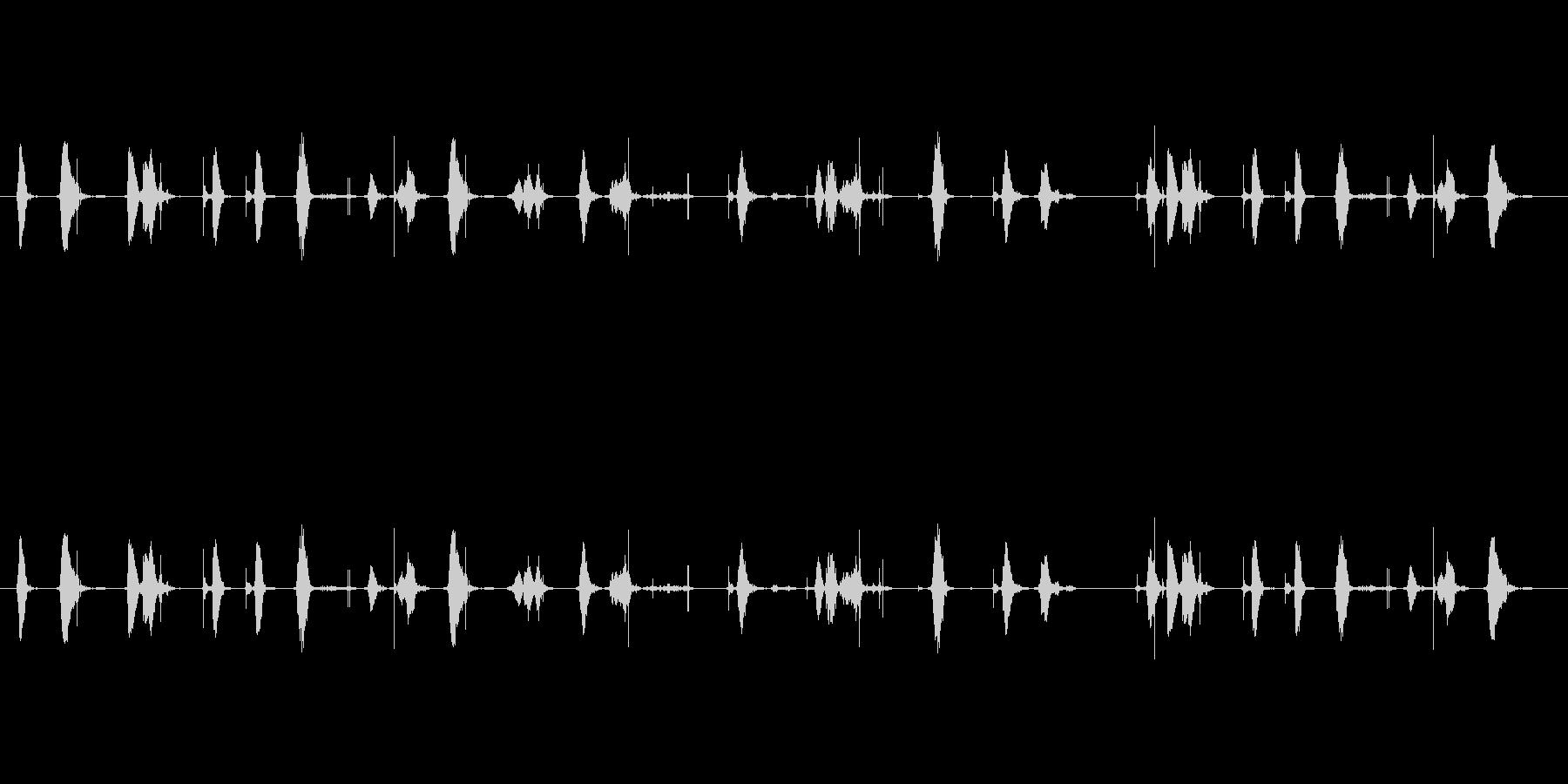 【シャープペン01-01(書く)】の未再生の波形