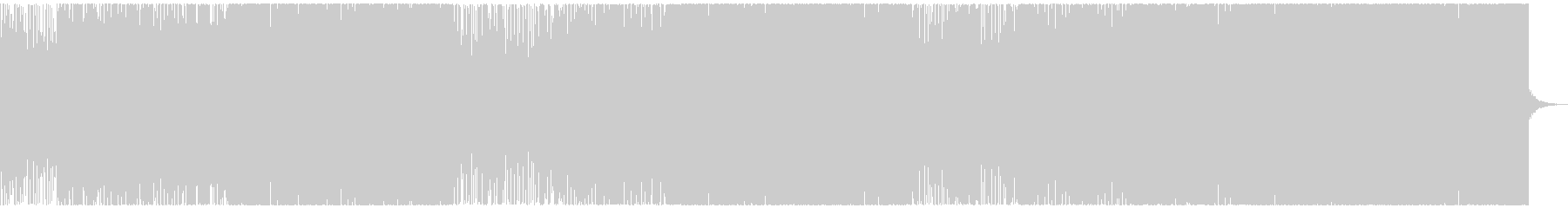 爽やか!メロディアスなトロピカルハウスの未再生の波形