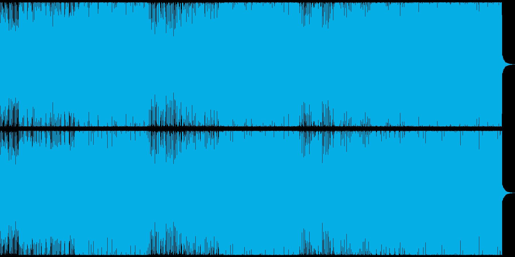 爽やか!メロディアスなトロピカルハウスの再生済みの波形
