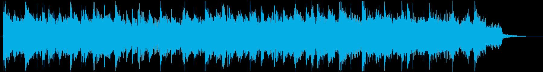 古風なスローテンポのトランスの再生済みの波形
