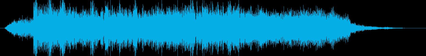 高音質♪ロックアップ出囃子の再生済みの波形