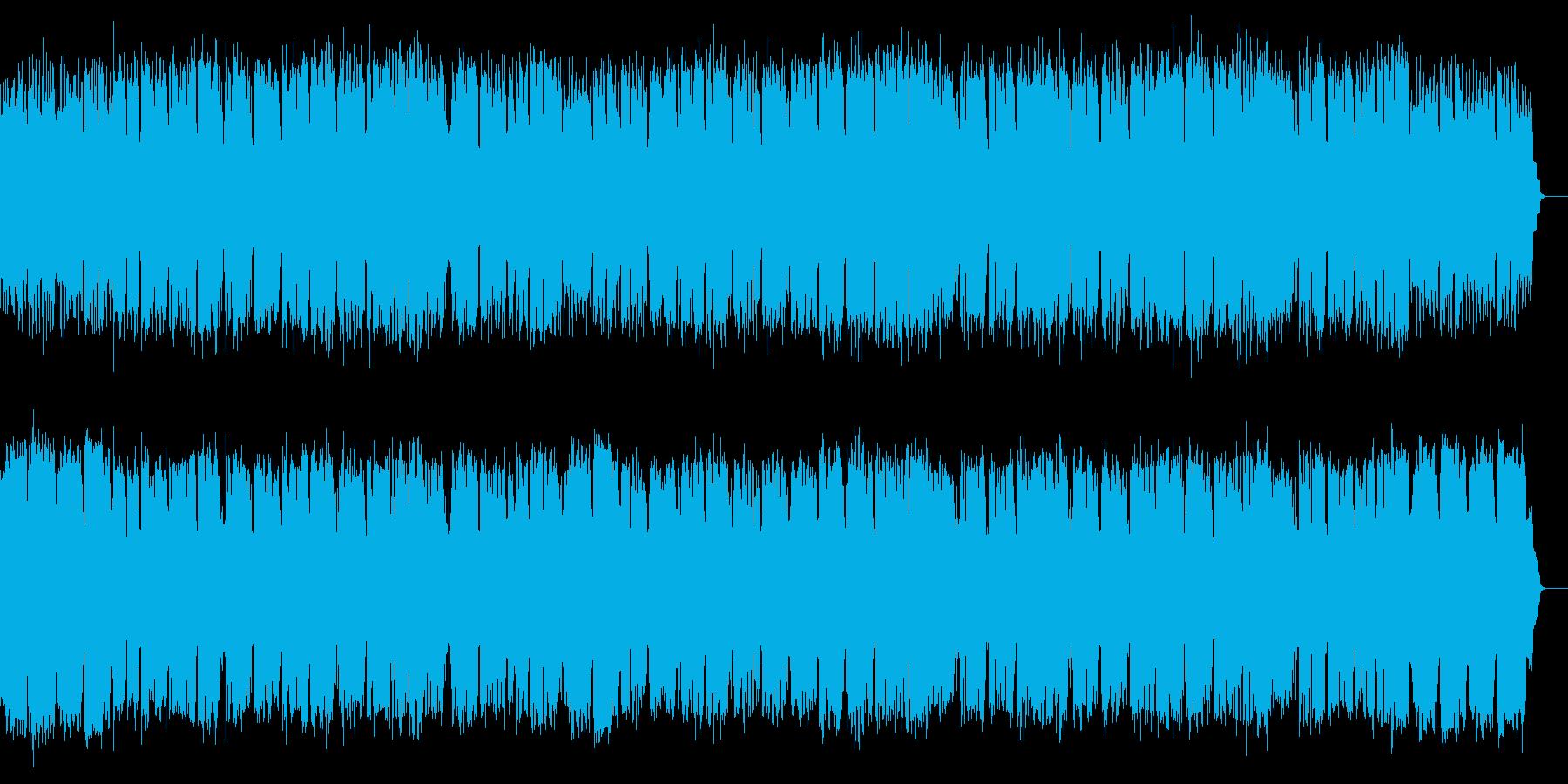 昭和レトロなタンゴの透明感あるソプラノ歌の再生済みの波形