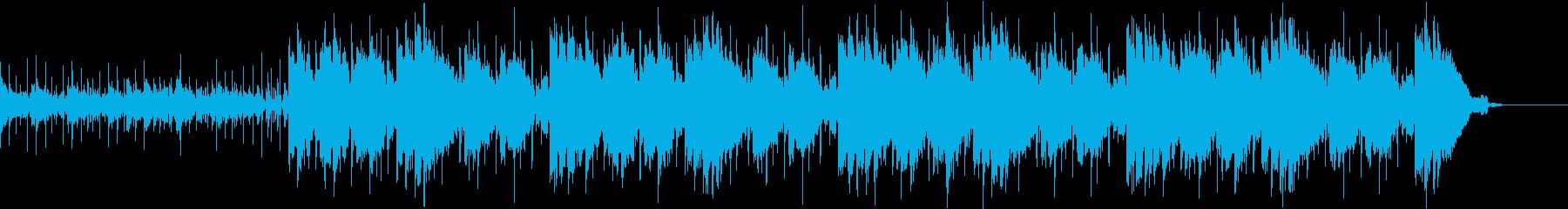 アメリカのティーンポップBGMの再生済みの波形