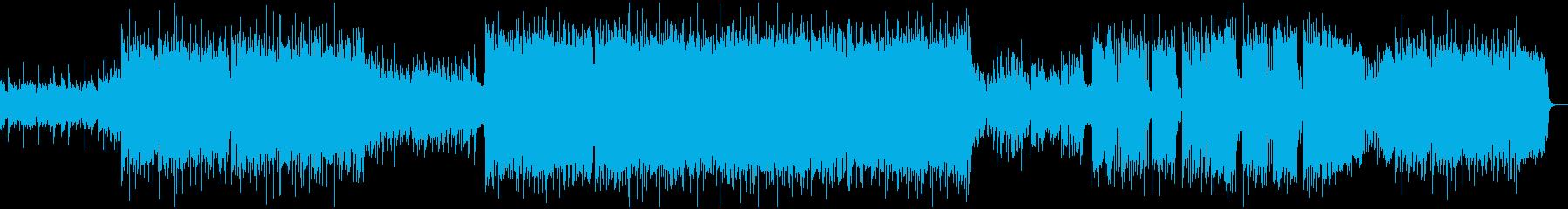 ロック&デジタル!戦いシーン等の再生済みの波形