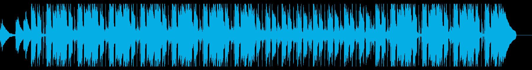 【LoFi hiphop】 チルピアノの再生済みの波形