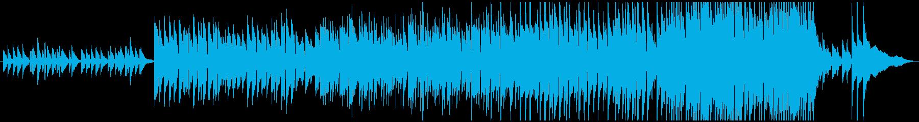 夕焼けをイメージしたピアノメロの曲です!の再生済みの波形