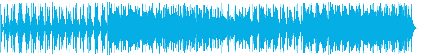 ワクワク感のある和風弦楽器シンセサウンドの再生済みの波形