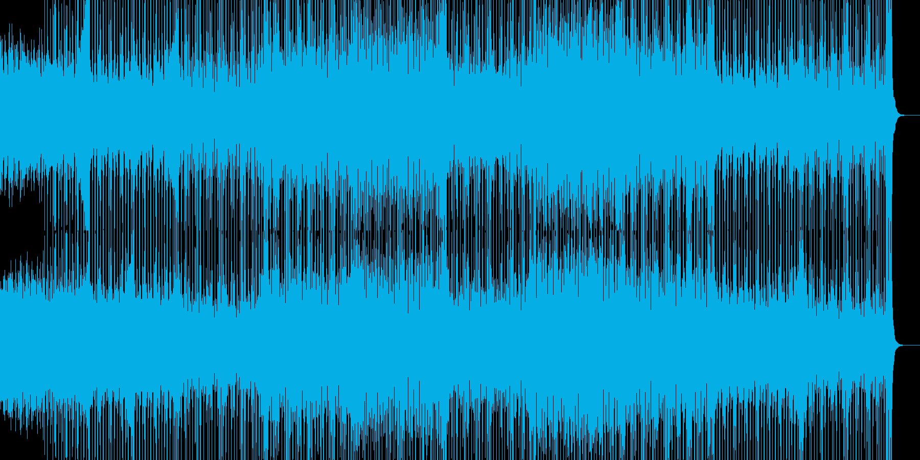 切ないリフが印象的なテクノの再生済みの波形