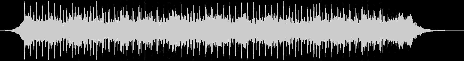 バックグラウンドインタビュー(42秒)の未再生の波形
