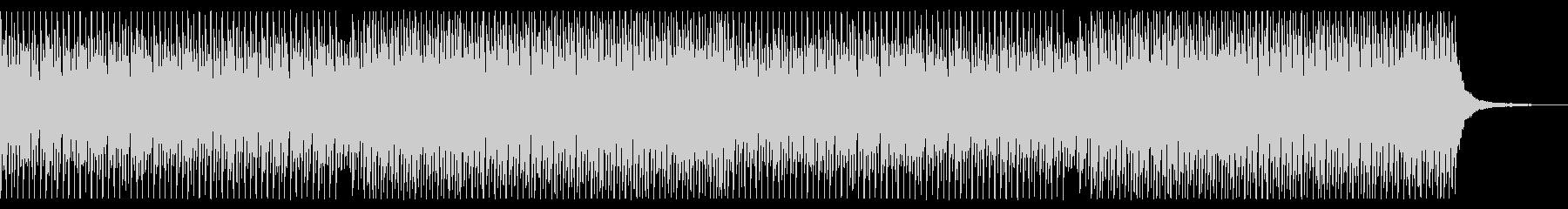 シンバル無し 青空 ポジティブ ピアノの未再生の波形