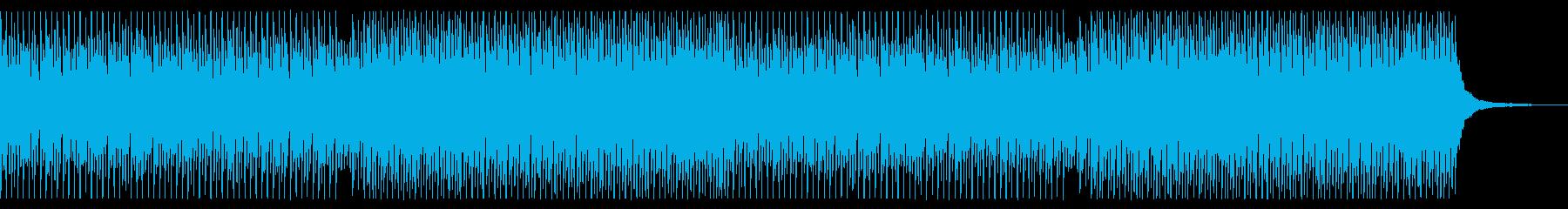 シンバル無し 青空 ポジティブ ピアノの再生済みの波形