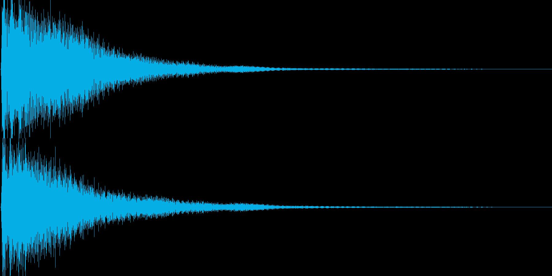 ゲーム(パワーアップ、アイテム入手)などの再生済みの波形