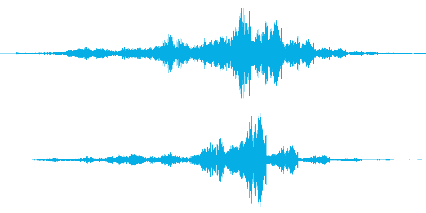 プワーン (出現・オープニング)の再生済みの波形