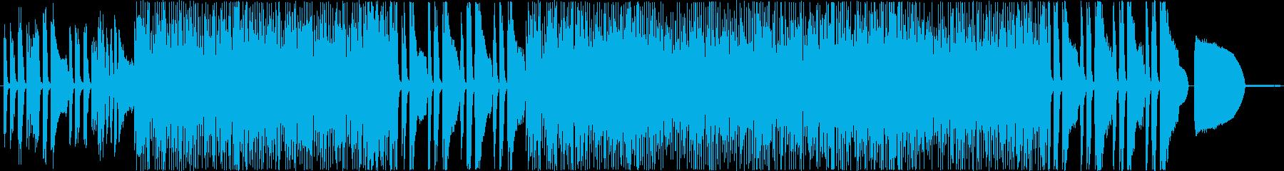 面白い状況に最適な愚かなコメディ音楽の再生済みの波形