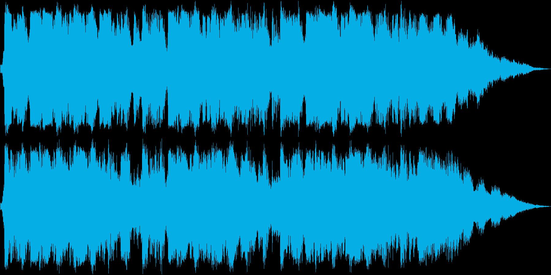 【20秒】きらめく海・夏/ラジオCM用の再生済みの波形