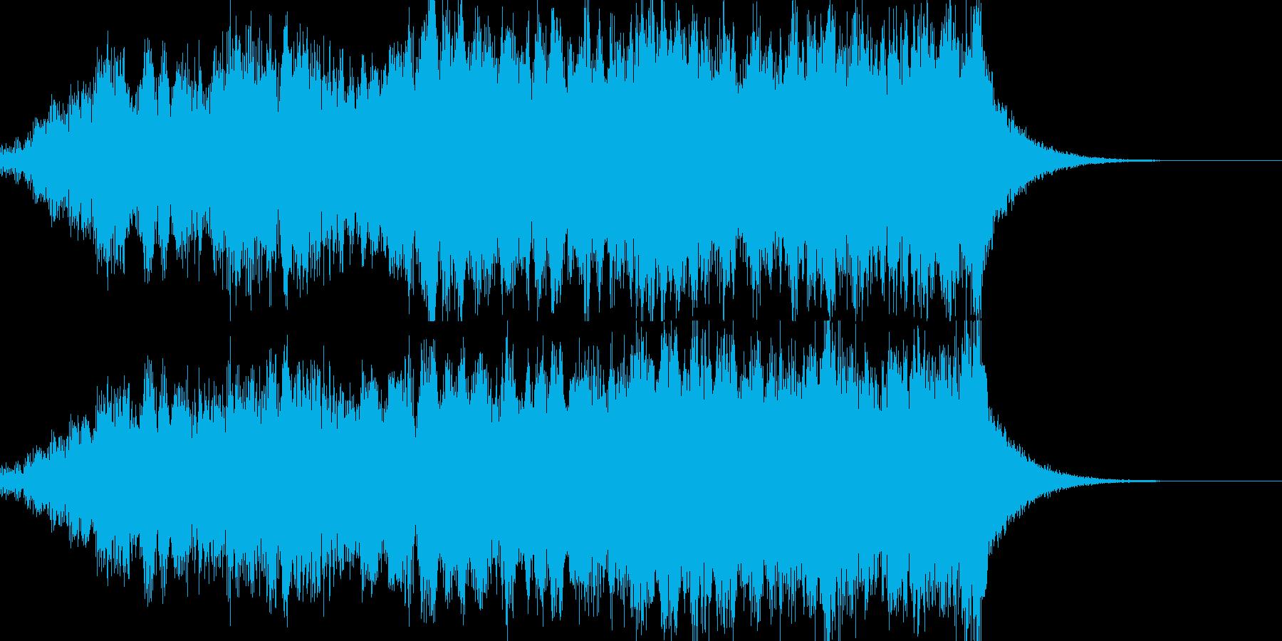 重圧・予兆イメージのジングルの再生済みの波形