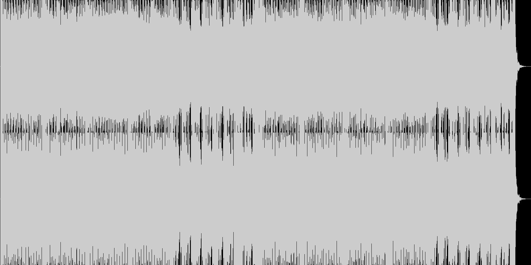ゲームのセレクト画面を想定したテクノ系…の未再生の波形