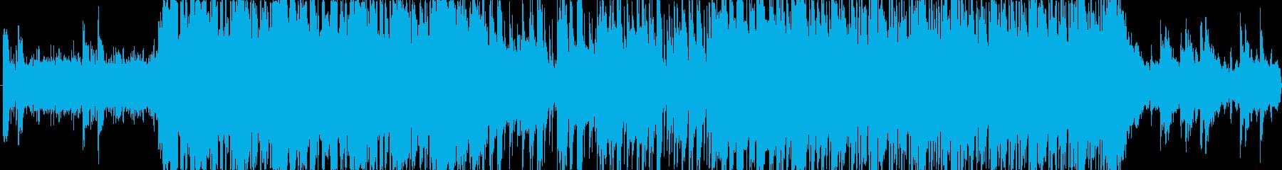 【ゲーム向け】ほのぼのとした街BGMの再生済みの波形