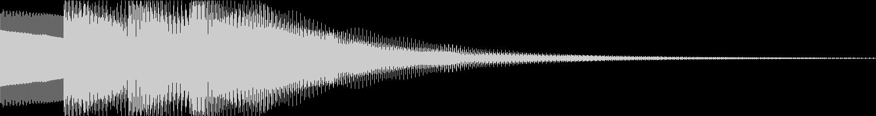 ピロリロの未再生の波形