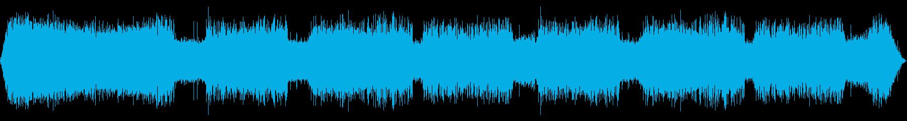 ソーティングマシンの確認:ランニン...の再生済みの波形