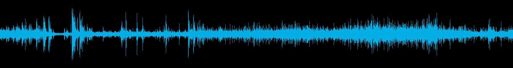 カートショッピングローリングメタルbの再生済みの波形