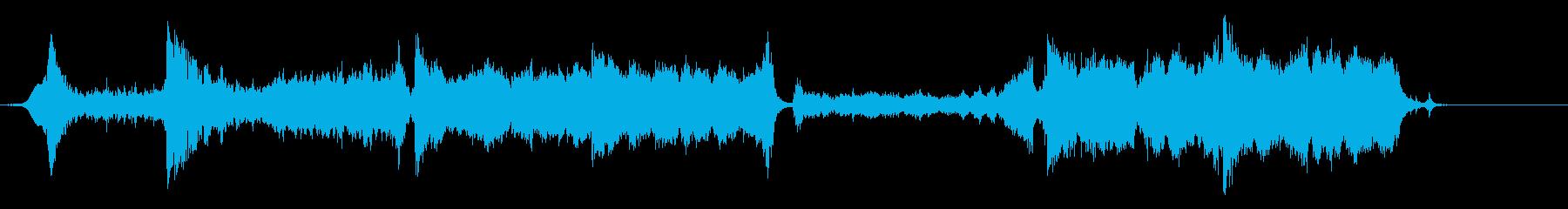 壮大なオーケストラの再生済みの波形