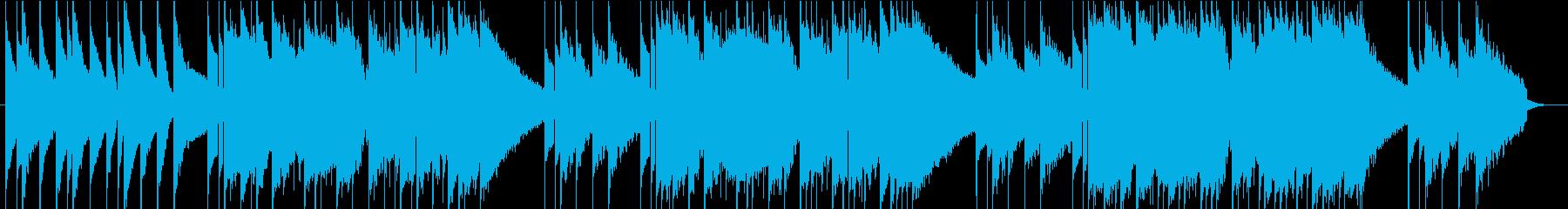ハッピーバースデー オルゴール風の再生済みの波形