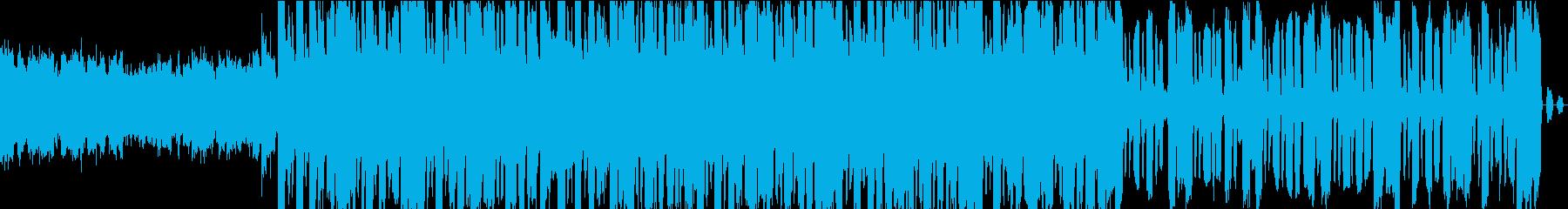 ラフで神秘的なエッジを持つレトロな...の再生済みの波形