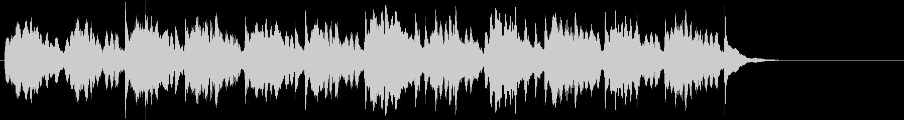 幻想的な音色のインスト曲の未再生の波形