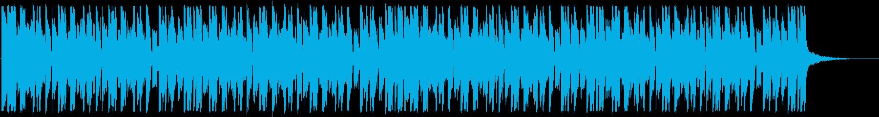 キラキラ/ハウス_No484_4の再生済みの波形