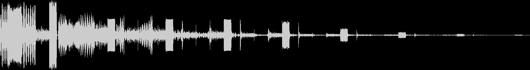AMGアナログFX27の未再生の波形