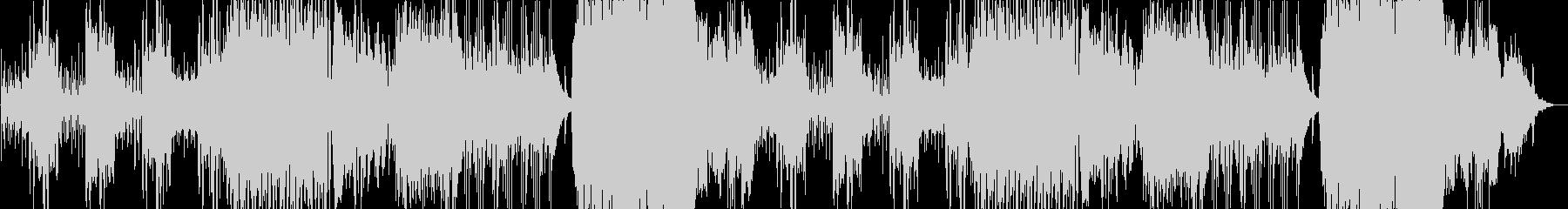 壮大なピタゴラスイッチの未再生の波形