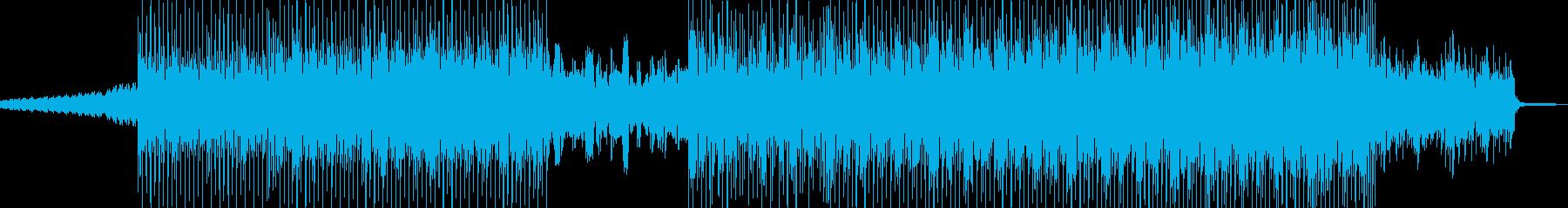 電脳世界・空想科学的なテクノの再生済みの波形