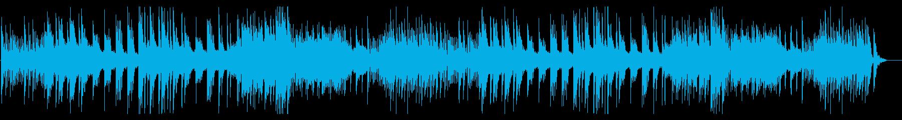 琴とピアノが響く、癒しの和風BGMの再生済みの波形